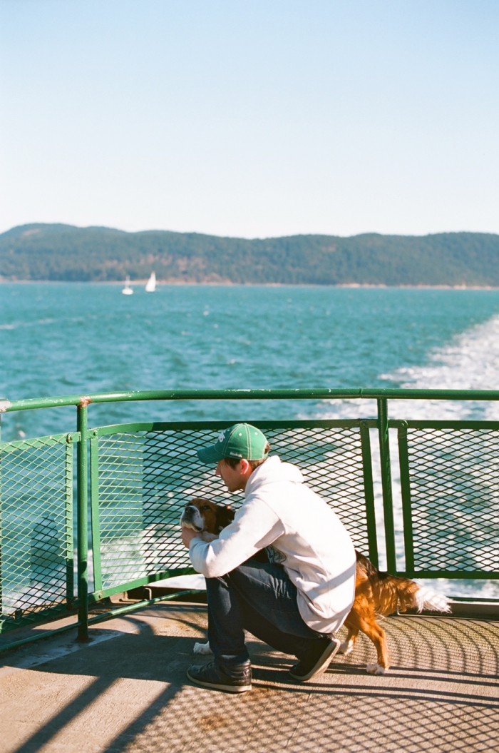 kodak ektar 100 anacortes ferry film photography